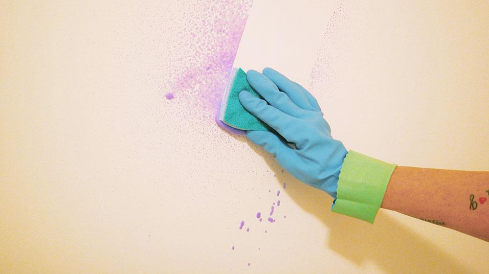 mancha de pintura