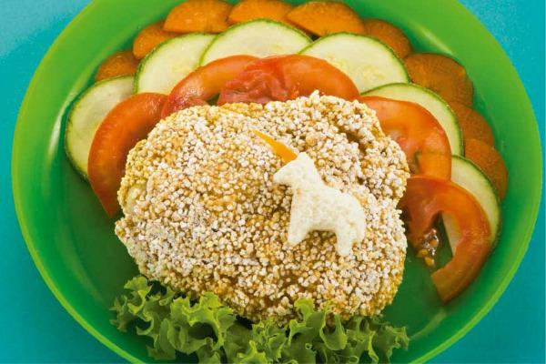 Recetas con pollo, recetas de pollo: Muslos de pollo horneados con amaranto