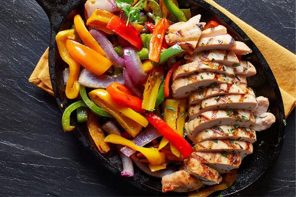 Recetas con pollo, recetas de pollo: Pollo con verduras.
