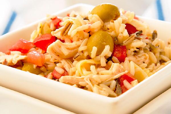 Recetas con pollo, recetas de pollo deshebrado con arroz