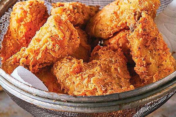 Recetas con pollo, recetas de pollo frito