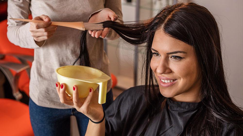 Teñir el cabello