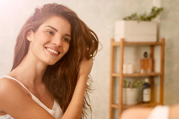 Semilla de aguacate para el cabello