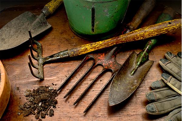 Herramientas de jardín