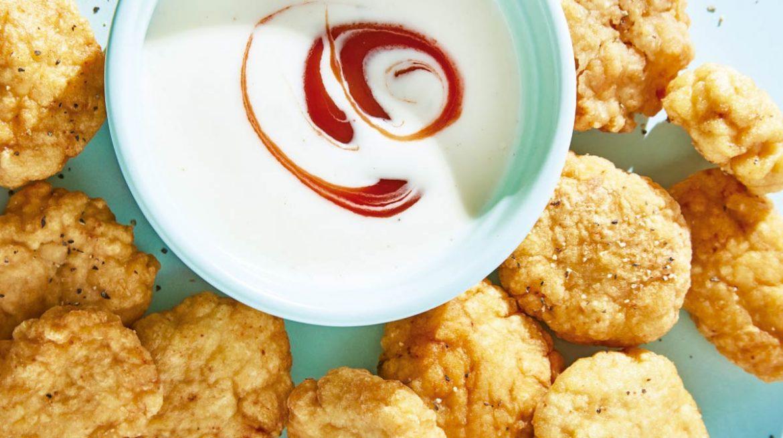 Nuggets de pollo con dip
