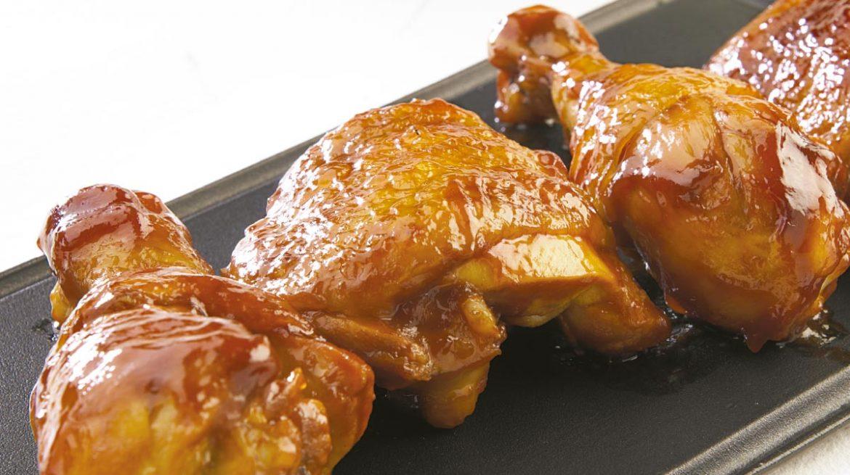Pollo a la bbq