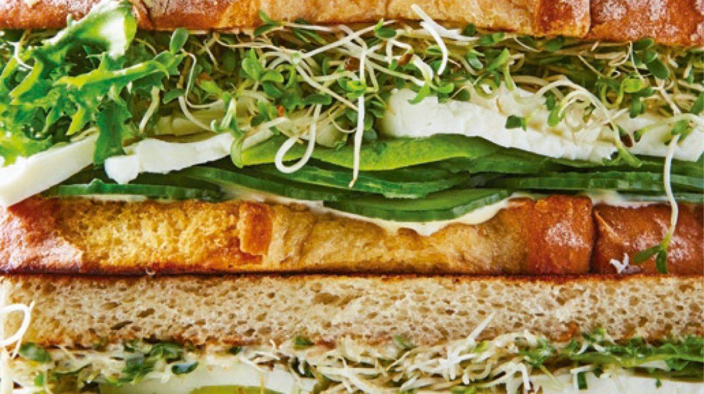 sandwich integral verde