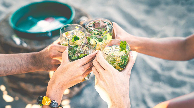 Drinks bajos en calorías