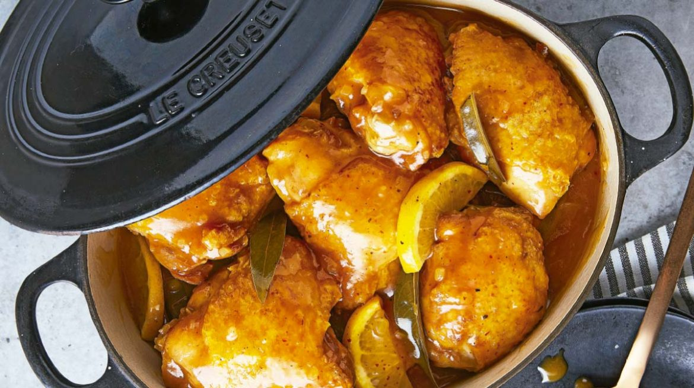 Muslos de pollo con limón