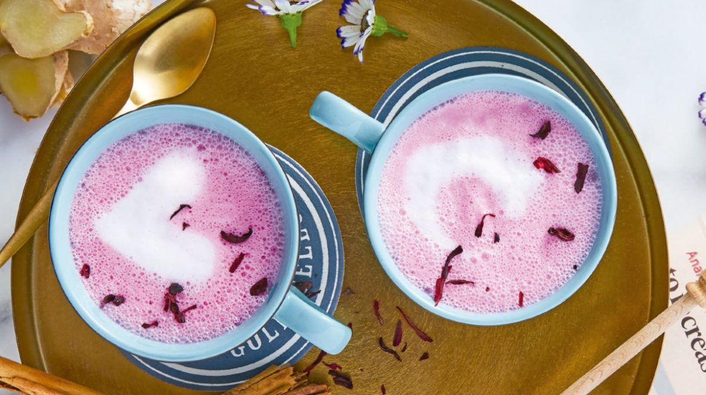 Pink latte para mamá