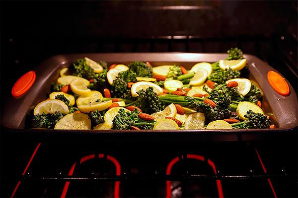 Rostizar vegetales