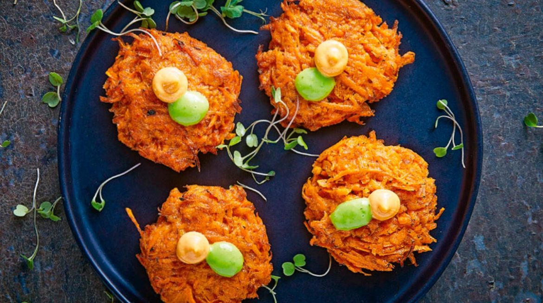 Tortitas receta de zanahoria
