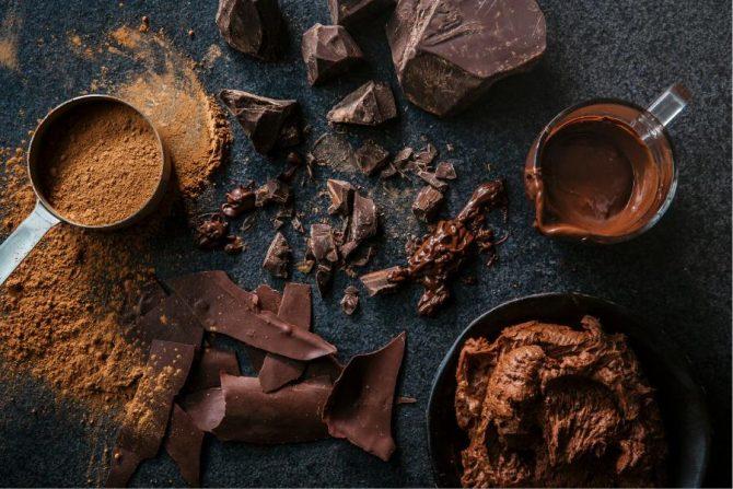 Chocolate para la piel