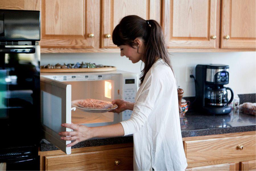 Es malo cocinar en microondas