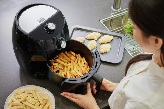 como hacer papas fritas light sin aceite en freidora de aire