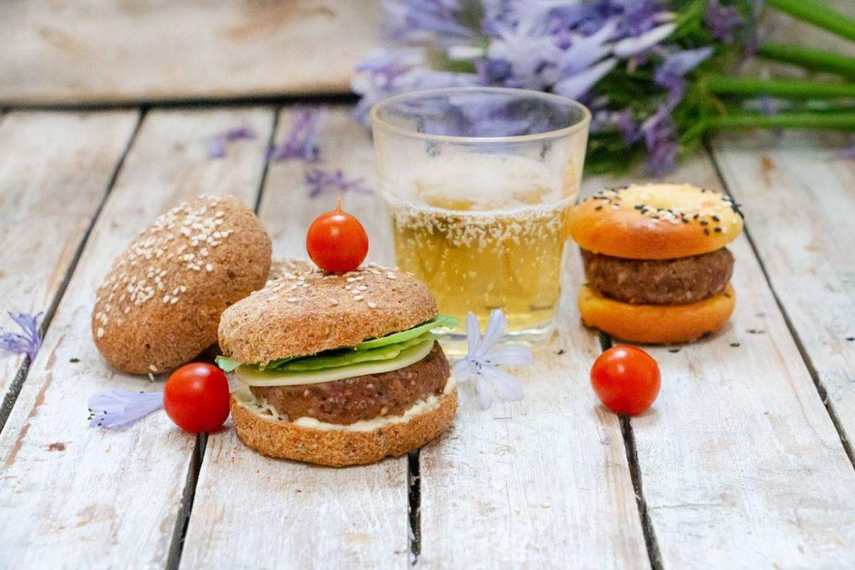como preparar hamburguesas keto de 5 gramos de carbohidratos