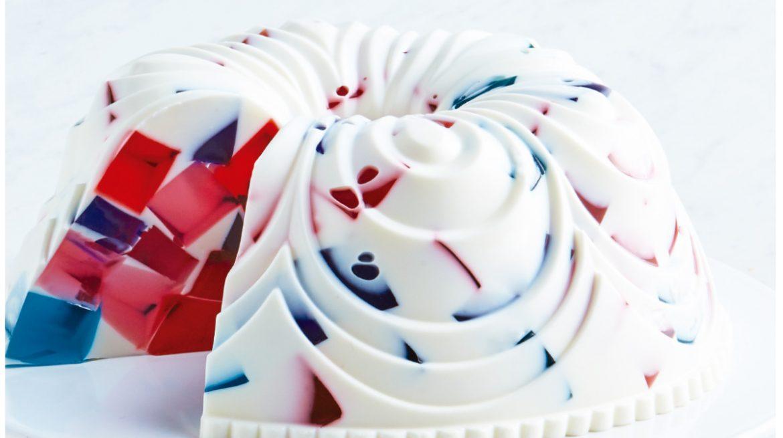 gelatina de mosaico