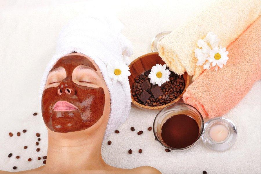Mascarilla de chocolate para la cara