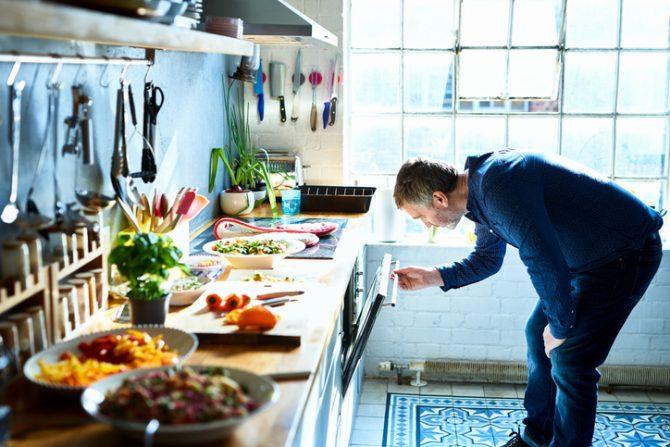 medidas para cocinar en horno