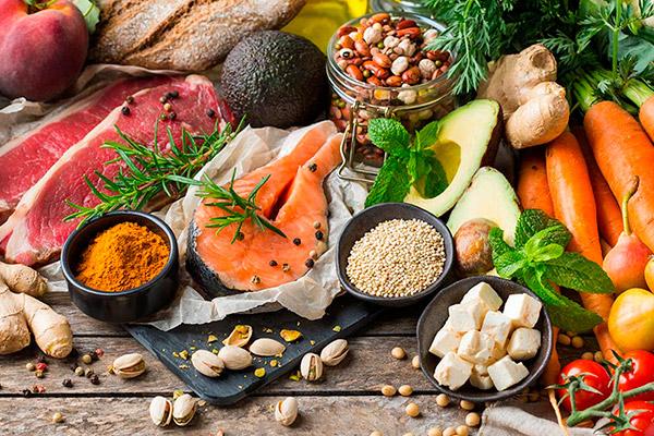 Proteínas vegetales y animales