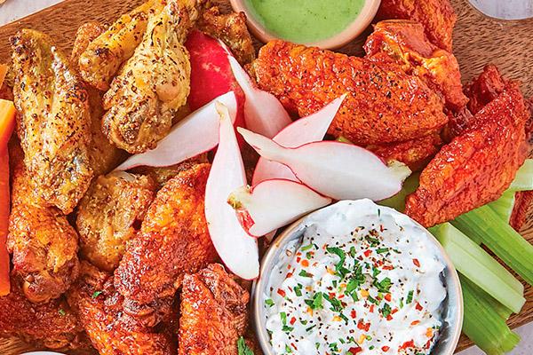 Recetas de pollo, recetas con pollo: alitas de pollo: recetas mexicanas
