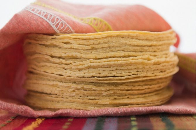 Beneficios de las tortillas de maíz