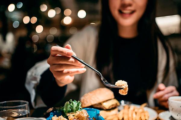 horas de comida saludables