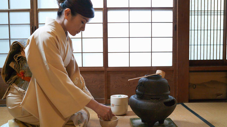 Ceremonia del té en Japón