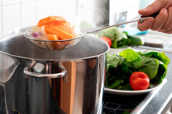 cocinar al vapor
