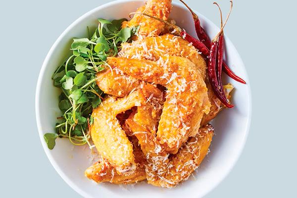 Recetas de pollo, recetas con pollo: cómo hacer alitas de pollo al jengibre