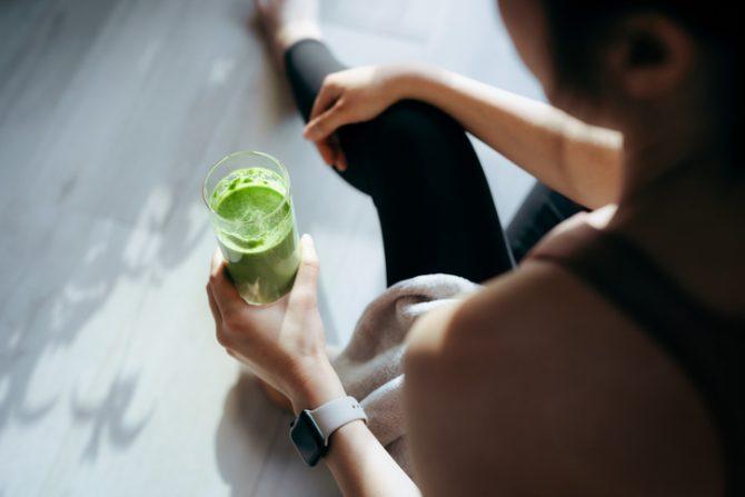 como preparar jugo verde facil y rapido