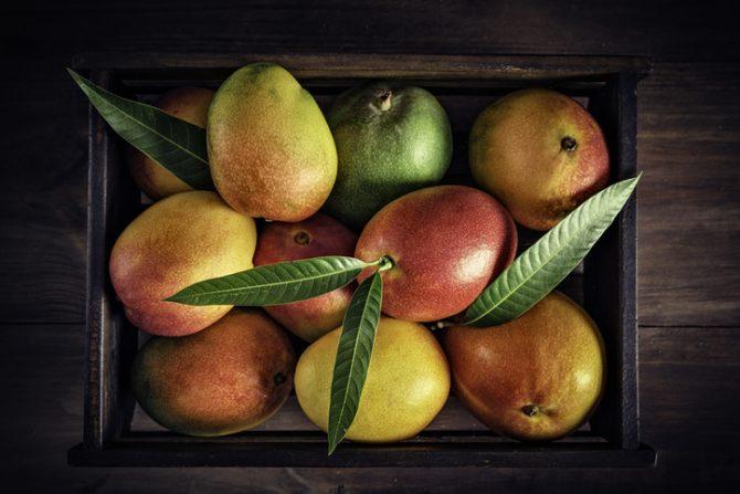 cuantas calorias hay en un mango