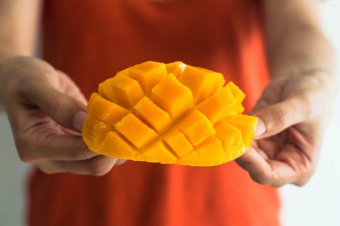 cuantas calorias tiene un mango