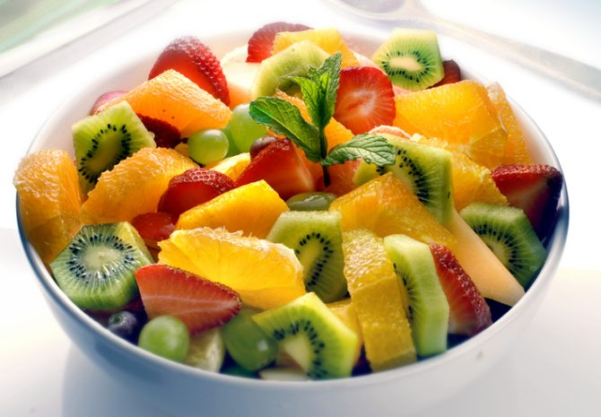 fruta como snack saludable para aumentar masa muscular