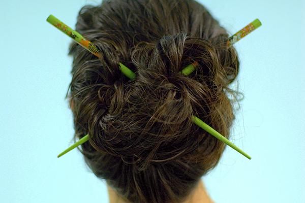 Palillos para el cabello