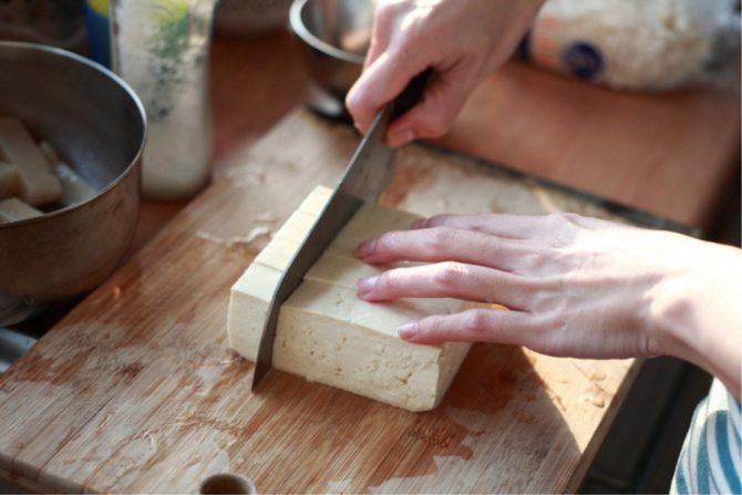 Para qué sirve el tofu