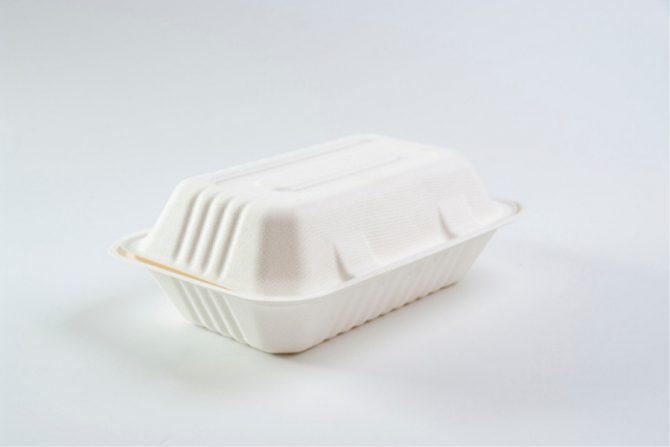Recipientes de unicel (comida para llevar)