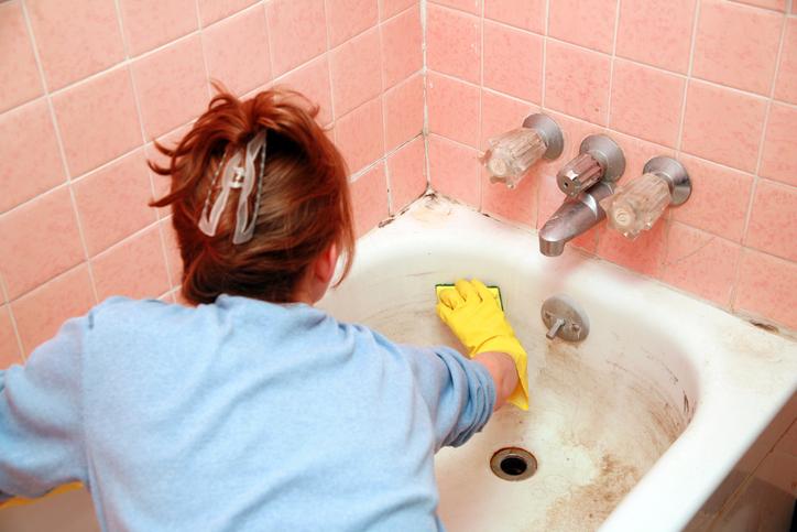 remedios naturales para quitar el moho del baño