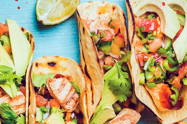 Recetas de pollo, recetas con pollo: tacos de pollo con sabor tradicional.