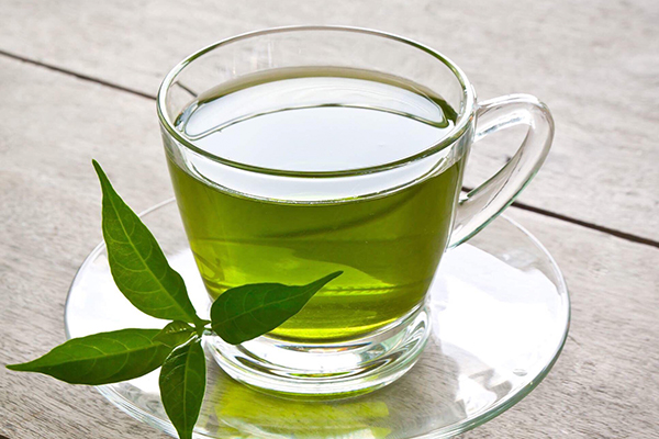 Té de hojas de guanabana