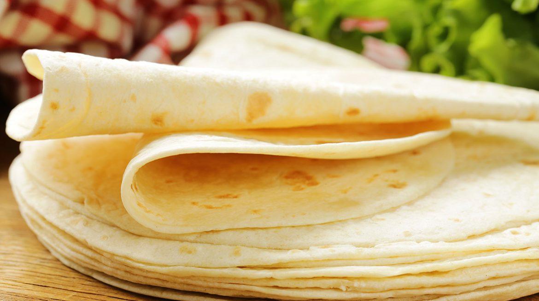 tortilla de harina calorias