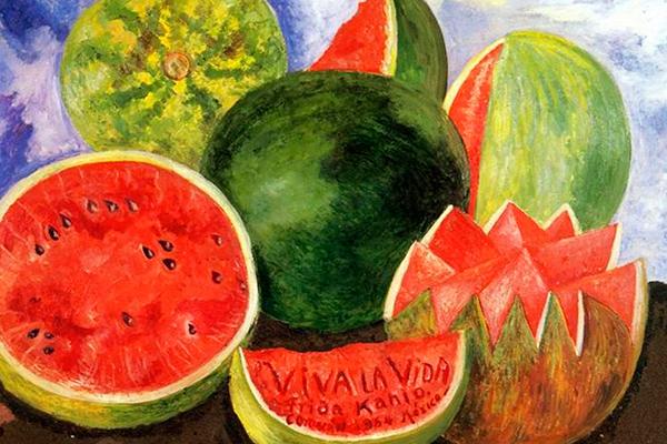 Viva la vida Frida Kahlo