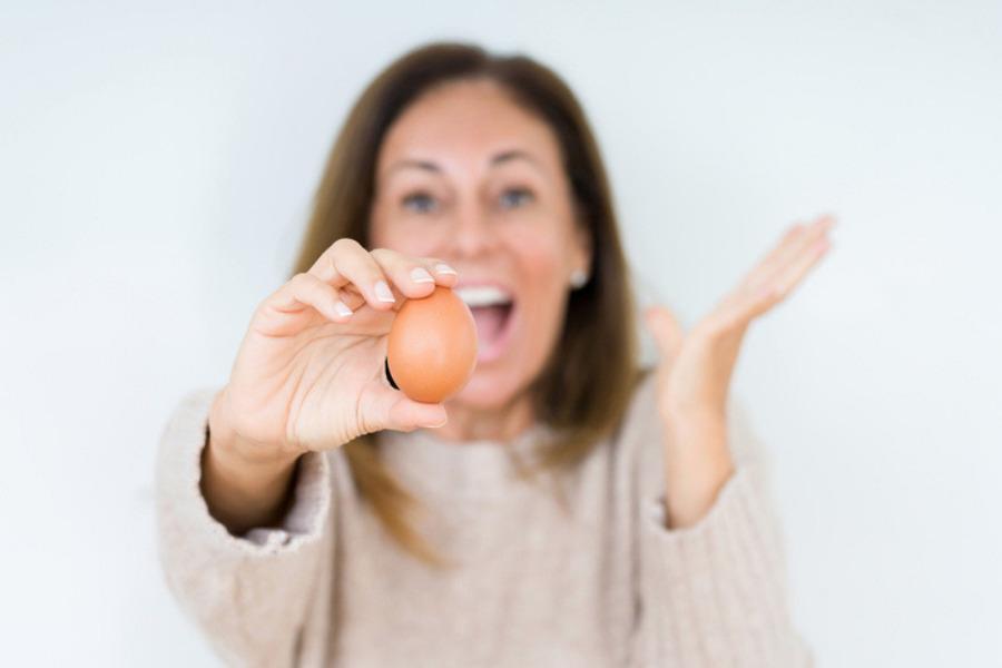 Beneficios del huevo en la cara