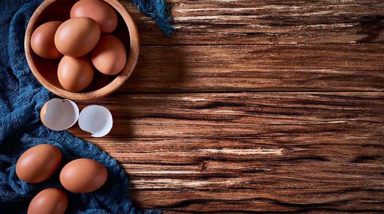 cáscaras de huevos