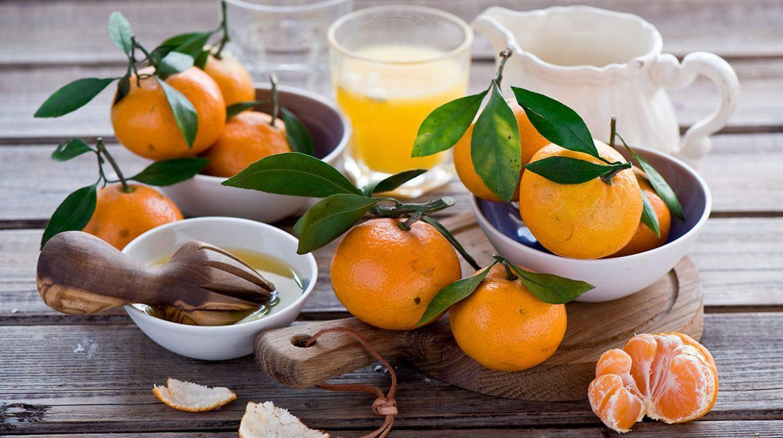 jugo de mandarina