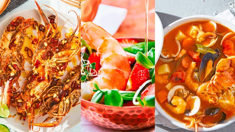 Recetas saludables con camarones