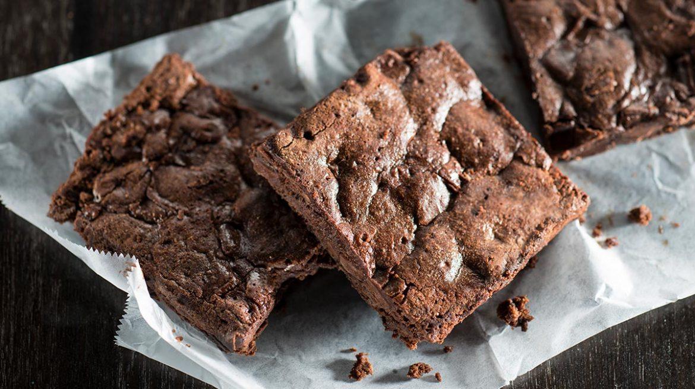 Brownie de chocolate en microondas