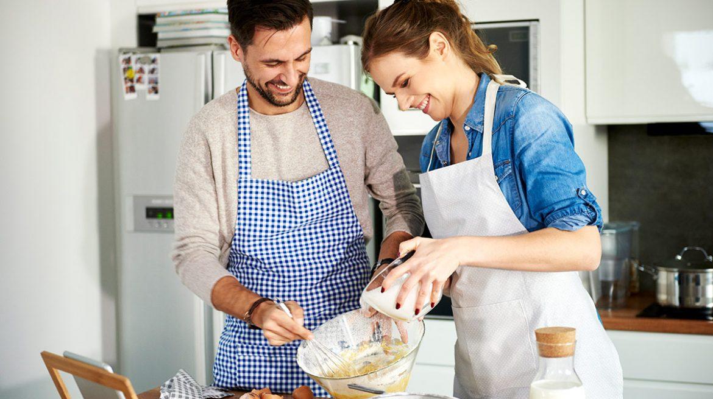 Cocinar y barrer queman calorías