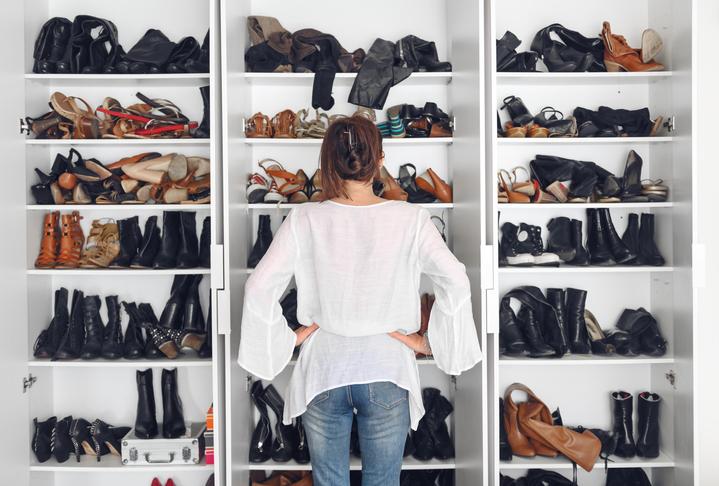 cómo ordenar tus zapatos