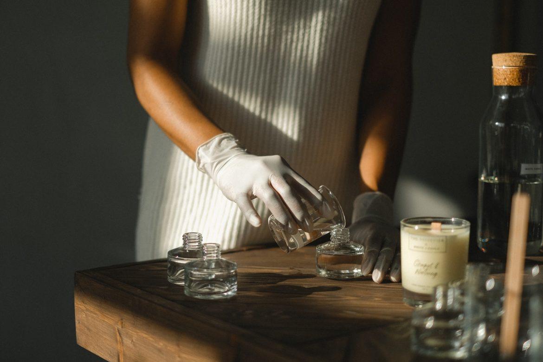 como hacer perfumes caseros